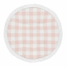 Pink Buffalo Plaid Check� Girl Baby Playmat Tummy Time Infant Play Mat by Sweet Jojo Designs - Blush and White Shabby Chic Woodland Rustic Country Farmhouse