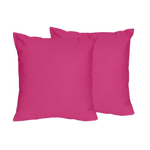 Pink Decorative Accent Throw Pillows for Chevron Collection - Set of 2 - Click to enlarge
