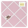 Pink Gingham Fabric Memory/Memo Photo Bulletin Board for French Toile Collection by Sweet Jojo Designs