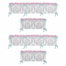 Pink, Gray and Turquoise Skylar�Collection Window Valance by Sweet Jojo Designs