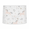 Pink, Grey and Gold Lamp Shade for Unicorn Collection by Sweet Jojo Designs