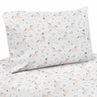 Pink, Grey and Gold Queen Sheet Set for Unicorn Collection by Sweet Jojo Designs - 4 piece set