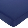 Play Ball Sports Fitted Crib Sheet for Baby and Toddler Bedding Sets by Sweet Jojo Designs - Solid Dark Blue