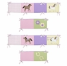 Pretty Pony Collection Crib Bumper by Sweet Jojo Designs
