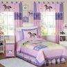 Pretty Pony Horse Children's Bedding - 4 pc Twin Set