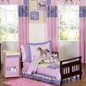 Pretty Pony Horse Toddler Bedding - 5 pc Set