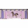 Pretty Pony Horse Window Valance by Sweet Jojo Designs