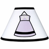 Purple, Black and White Princess Lamp Shade by Sweet Jojo Designs