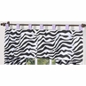 Purple Funky Zebra Window Valance by Sweet Jojo Designs