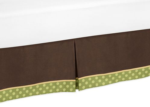 Queen Bed Skirt for Sea Turtle Bedding Sets by Sweet Jojo Designs - Click to enlarge