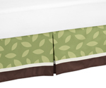 Queen Kids Childrens Bed Skirt for Jungle Time Bedding Sets by Sweet Jojo Designs
