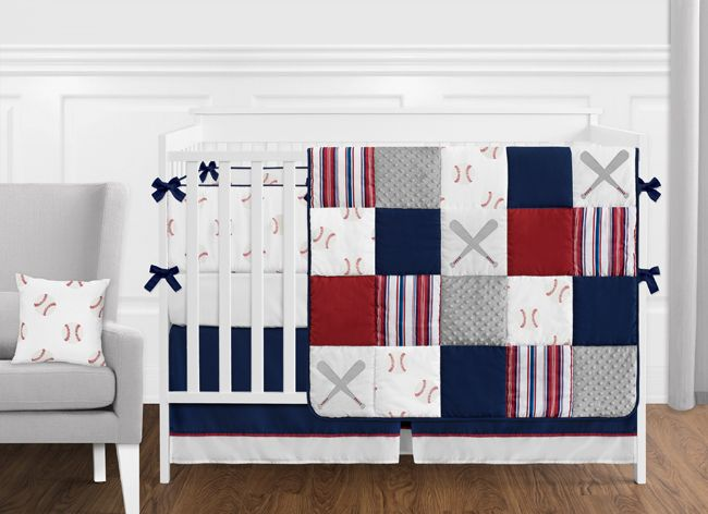 Red White And Blue Bathroom Fabric Bath Shower Curtain For