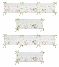 Riley's Roses Collection Crib Bumper by Sweet Jojo Designs