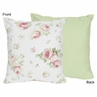 Riley's Roses Decorative Accent Throw Pillow by Sweet Jojo Designs