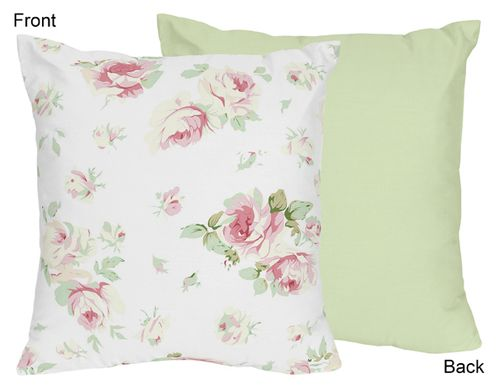 Riley's Roses Decorative Accent Throw Pillow by Sweet Jojo Designs - Click to enlarge