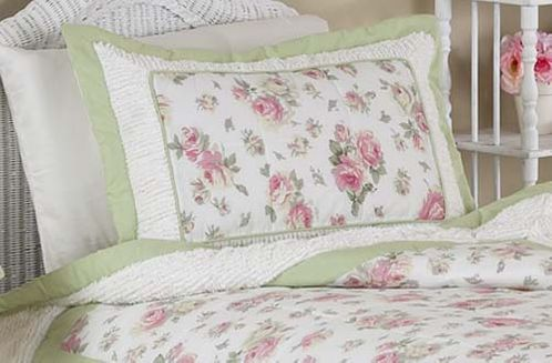 Riley's Roses Pillow Sham - Click to enlarge