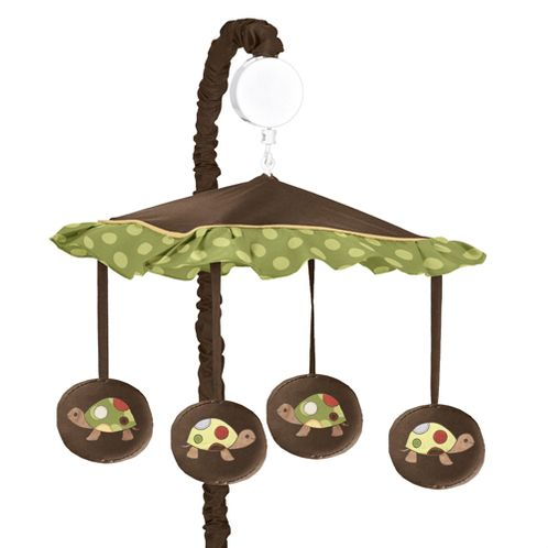 Sea Turtle Musical Baby Crib Mobile by Sweet Jojo Designs - Click to enlarge