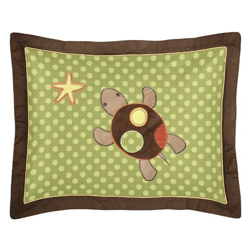 Sea Turtle Pillow Sham by Sweet Jojo Designs - Click to enlarge