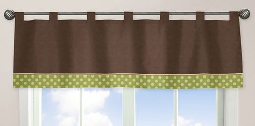 Sea Turtle Window Valance by Sweet Jojo Designs - Click to enlarge