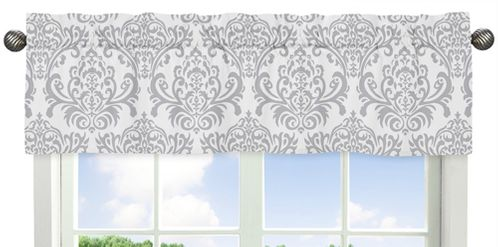 Skylar�Collection Window Valance by Sweet Jojo Designs - Click to enlarge