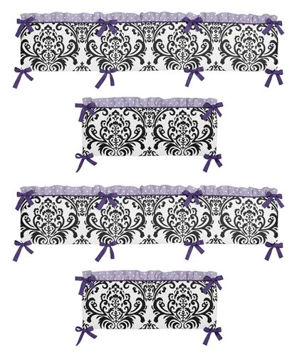 Sloane Collection Crib Bumper by Sweet Jojo Designs - Click to enlarge