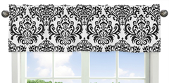Sloane Collection Window Valance by Sweet Jojo Designs