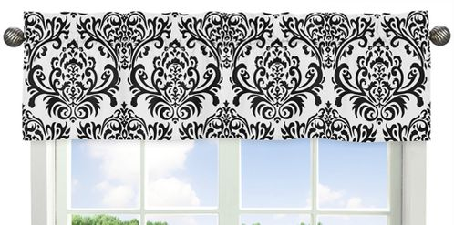 Sloane�Collection Window Valance by Sweet Jojo Designs - Click to enlarge