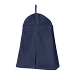 Solid Navy Blue Nursery Diaper Stacker Storage Organizer