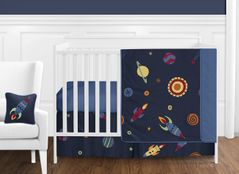 Space Galaxy Baby Bedding - 11pc Crib Set by Sweet Jojo Designs