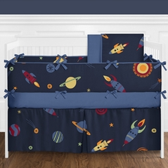 Space Galaxy Baby Bedding - 9pc Crib Set by Sweet Jojo Designs