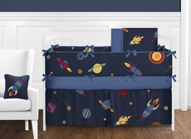 Space Galaxy Lamp Shade by Sweet Jojo Designs only $27 99