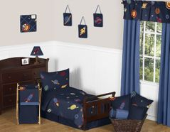 Space Galaxy Toddler Bedding - 5pc Set by Sweet Jojo Designs