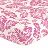 Sweet Jojo Designs Surf Fitted Crib Sheet for Baby/Toddler Bedding Sets - Leaf Print