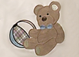 Teddy Bear Toddler Bedding