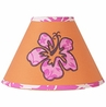 Tropical Hawaiian Lamp Shade for Girls Surf Bedding by Sweet Jojo Designs