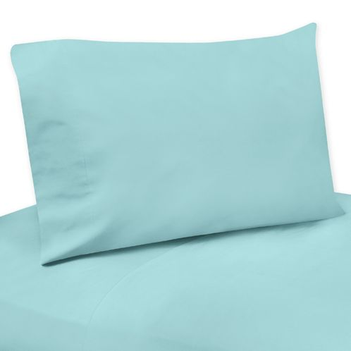 Turquoise 4 pc Queen Sheet Set for Emma Bedding Collection - Click to enlarge