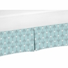 Turquoise Arrow Print Crib Bed Skirt for Earth and Sky�Baby Bedding Sets by Sweet Jojo Designs