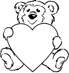 Valentine's Day Bear
