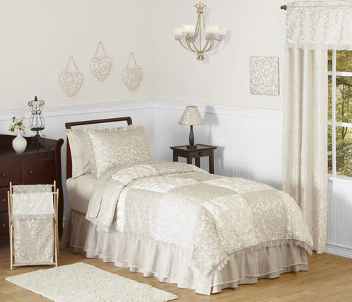 Victoria Childrens and Kids Bedding - 3pc Full / Queen Set by Sweet Jojo Designs - Click to enlarge