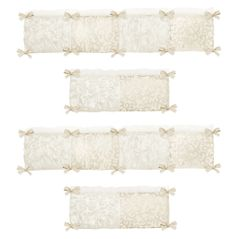 Victoria Collection Crib Bumper by Sweet Jojo Designs