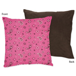 Western Horse Cowgirl Decorative Accent Throw Pillow by Sweet Jojo Designs