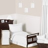 White Diamond Jacquard Modern Toddler Bedding - 5pc Set by Sweet Jojo Designs