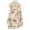 Wild West Cowboy Western Infant Baby Breastfeeding Nursing Cover Up Apron by Sweet Jojo Designs