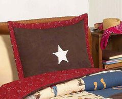 Wild West Cowboy Western Pillow Sham