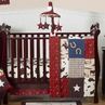 Wild West Western Horse Cowboy Baby Bedding - 11pc Crib Set