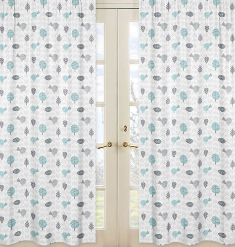 Window Treatment Panels for Earth and Sky Collection - Set of 2 - Click to enlarge