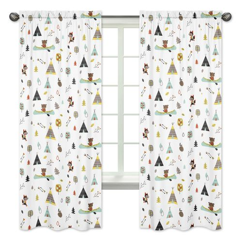 Window Treatment Panels for Outdoor Adventure Collection - Set of 2 - Click to enlarge