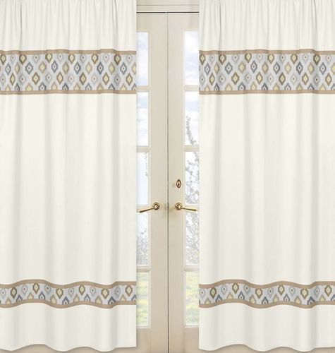 Window Treatment Panels for Safari Outback Jungle Collection - Set of 2 - Click to enlarge