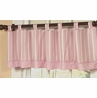 Window Valance for Pink and Brown Argyle Bedding Sets by Sweet Jojo Designs