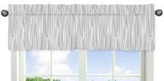 Woodland Animals Collection Woodgrain Print Window Valance